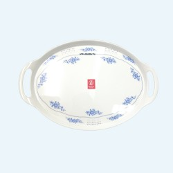 T707-17.5 Khay Oval 17.5 inch ( Many Design) - SPW